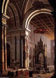 Portfolio \u0026gt;\u0026gt; Pietro Francesco Garola - Pietro-Francesco-Garola-Interior-of-the-Basilica-of-San-Paolo-in-Rome-2--S