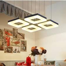 kitchen modern 4 6 pcs led pendant lights bar stud cheap office lighting