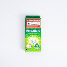 Купить <b>Таблетки д/ПММ CLEAN&FRESH</b> All in 1, 4шт недорого от ...