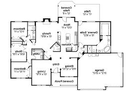 Ranch House Plans   Pleasanton     Associated Designs    Ranch House Plan   Pleasanton     Floor Plan