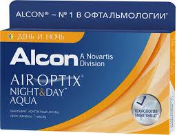 <b>Alcon</b>-CIBA Vision <b>контактные линзы Air</b> Optix Night & Day Aqua