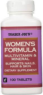Trader Joe's Women's Formula Multivitamin & Mineral ... - Amazon.com