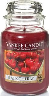 "<b>Ароматическая свеча</b> Yankee Candle ""Черная черешня / <b>Black</b> ..."