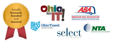 member associations jpg quality  american bus association ohio travel association select travel and a multitude of other professional associations and is licensed bonded and insured