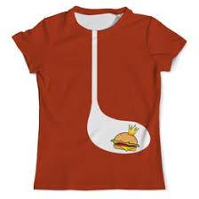 """Мужские футболки c эксклюзивными принтами """"<b>бургер</b>"""" - купить в ..."""