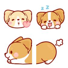 <b>Corgi Dog</b> KaKa Emoji – LINE Emoji   LINE STORE