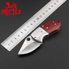 [$3.08] Outdoor <b>high hardness</b> knife sharp folding knife mini portable ...