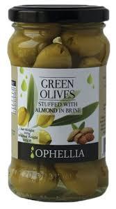 Купить <b>Ophellia</b> Зеленые <b>оливки</b> фаршированные миндалем ...