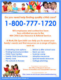 resource referral services nih child care resource and referral services