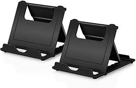 Cell <b>Phone Stand</b> 2Pack, Boxeroo <b>Portable Foldable</b> Desktop Tablet ...