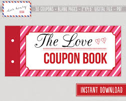 love coupons valentine s day coupon book r tic 128270zoom