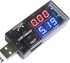 Diymore <b>USB Charger</b> Doctor <b>Current</b> Voltage <b>Charging Detector</b> ...
