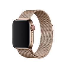 Купить Браслет <b>Apple</b> Watch 44мм, миланский сетчатый, золотой ...