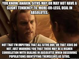 Cautious Obi Wan memes | quickmeme via Relatably.com
