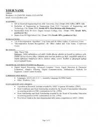 Example Good Cv Uk  good cv uk examples sample action words for