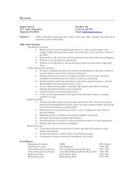 resume medical assistant medical assistant resume objective resume examples examples of skills for resume summary of skills medical assistant resume objective examples entry