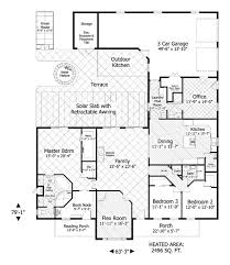 single story plan with exterior entrance to office space perfect for in home business business office floor plans home office layout