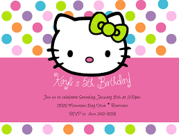 hello kitty party invitations com hello kitty party invitations to design your own party invitation in outstanding styles 1911201611