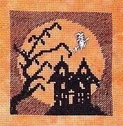 Romy's Creations <b>Halloween Castle</b> - Cross Stitch <b>Pattern</b> - 123Stitch