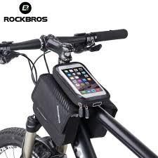 "<b>RockBros Cycling</b> Front Tube Frame Bag For 6.0""<b>Touch Screen</b> ..."