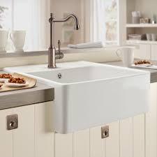 pie crust porcelain butler kitchen sink french