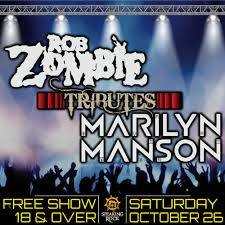 Free <b>LIVE</b> Tribute to <b>Rob Zombie</b> & Marilyn Manson! - Speaking Rock