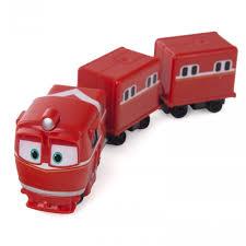 <b>Robot Trains Паровозик с</b> двумя вагонами Альф - Акушерство.Ru