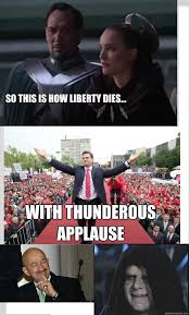 So this is how liberty dies... With thunderous applause - Mexicans ... via Relatably.com