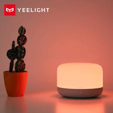 Yelight intelligent <b>LED bedside lamp D2</b> millet bedroom table lamp ...
