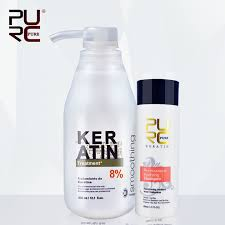 <b>PURC</b> Brazilian <b>keratin 8</b>% <b>formalin</b> 300ml <b>keratin</b> hair treatment ...