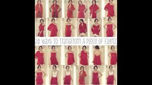 <b>20</b> Ways To Transform A <b>Piece</b> of Fabric Into A Shirt, Skirt, & Dress ...