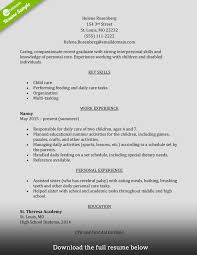 how to write a perfect caregiver resume examples included caregiver resume entry level