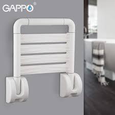 Настенные сиденья для душа GAPPO, складной стул для <b>ванной</b> ...