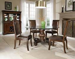 black and white dining table set: full size of dining room brown leather upholstered dining chair classic dining set round glass
