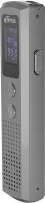 <b>Диктофон Ritmix RR</b>-<b>120 8Gb</b>, 15119875, silver — купить в ...