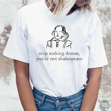 Stop Making <b>Drama</b> You Are Not Shakespeare Summer Fun Letter ...