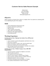 doc customer service skills resumes template resume for bank customer service representative