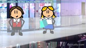 how to become a retail s representative