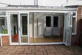 simple white bi fold doors bi fold doors home office