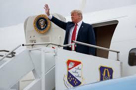 Was that <b>toilet</b> paper stuck to <b>Donald Trump's</b> shoe?