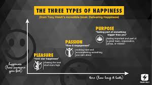 the three types of happiness train ugly it s easy for us to get stuck chasing pleasure as our source of happiness and that makes sense it s the easiest to and we love that short blast of
