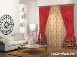 beauteous living room curtain design home