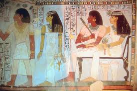 Resultado de imagen de paredes pintada tumbas egipcias