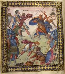 the paris psalter catholic news live fifth image is a good example of a late r artistic convention by which halos are used to indicate the most important figure in this case king saul