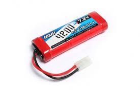 <b>Аккумулятор nVision</b> 7.2V 4200mAh <b>NiMH</b> Tamiya plug NVO1002 ...