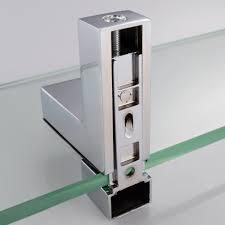 bathroom tempered glass shelf: kes  inch bathroom tempered glass shelf mm thick wall mount rectangular polished chrome bracket bgss