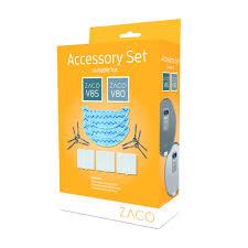 ZACO <b>Accessory</b> Set <b>Robot Vacuum Cleaner</b> and <b>Robot Mop</b> V80 V85