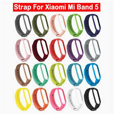 <b>Silicone</b> Watch <b>Strap Wrist Strap</b> Replacement <b>Band</b> Belt For Xiaomi ...