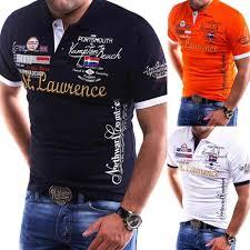 <b>Zogaa brand New Mens</b> Polo Shirt Slim Fit Short Sleeve Shirt Polos ...