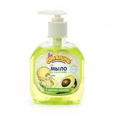 <b>Мое солнышко мыло жидкое</b> детское с маслом авокадо 300мл ...